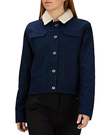 Trouper Cotton Fleece-Lined Jacket