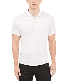 Men's Dot-Stripe Polo, Created for Macy's
