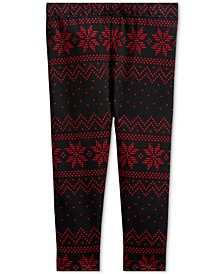 Baby Girls  Fair Isle–Print Legging