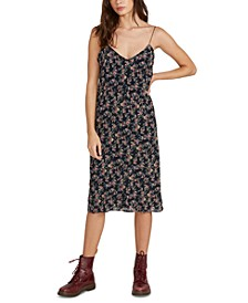 Flavor Up Printed Slip Dress