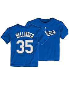 Toddlers Cody Bellinger Los Angeles Dodgers Official Player T-Shirt