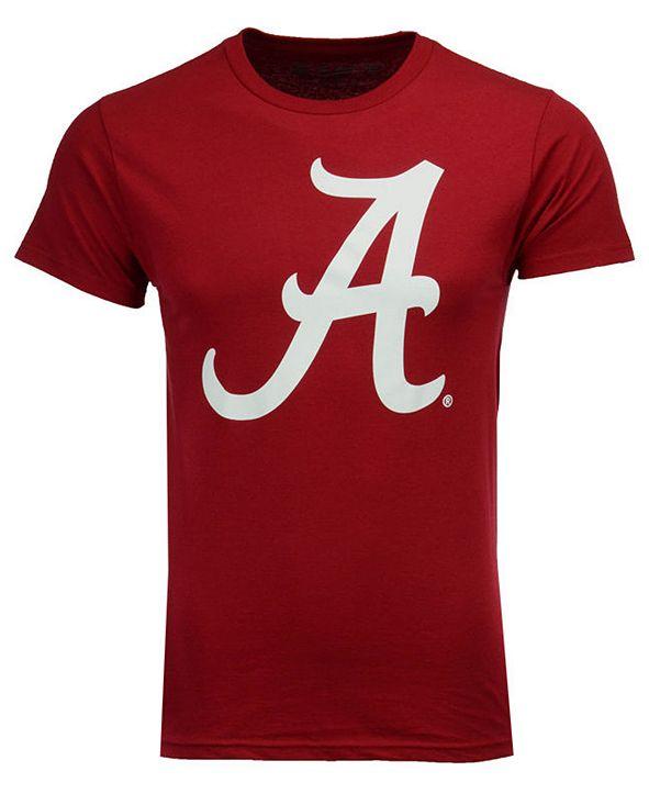 New Agenda Men's Alabama Crimson Tide Big Logo T-Shirt