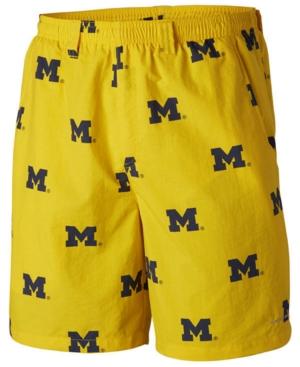 Men's Michigan Wolverines Backcast Printed Shorts