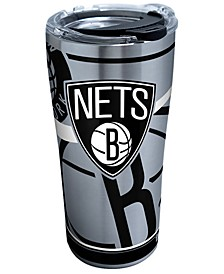 Brooklyn Nets 20oz Paint Stainless Steel Tumbler