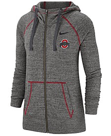 Women's Ohio State Buckeyes Gym Vintage Full-Zip Jacket