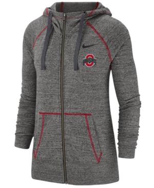 Nike Women's Ohio State Buckeyes Gym Vintage Full-Zip Jacket