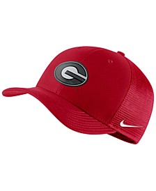 Georgia Bulldogs Aerobill Mesh Stretch Fitted Cap