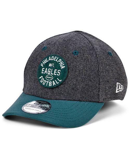 New Era Boys' Philadelphia Eagles On-Field Sideline Home 39THIRTY Cap