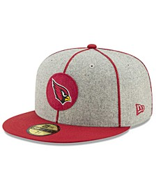 Little Boys Arizona Cardinals On-Field Sideline Home 59FIFTY Fitted Cap