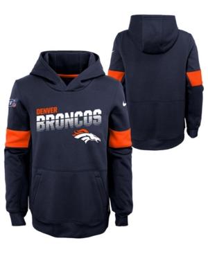 Nike Big Boys Denver Broncos Therma Hoodie