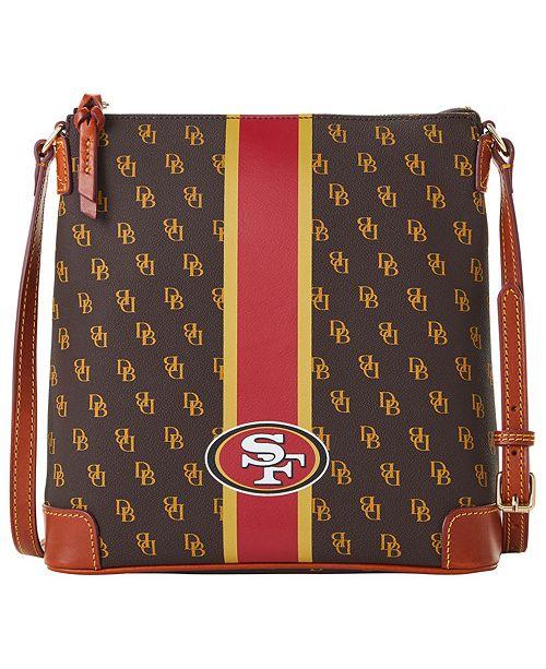 Dooney & Bourke San Francisco 49ers Stadium Signature Zip Crossbody