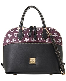 Texas A&M Aggies Saffiano Zip Satchel