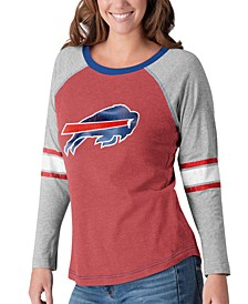 Women's Buffalo Bills Long Sleeve Top Pick T-Shirt