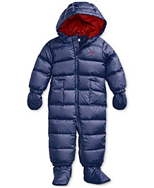 Quilted Down Snowsuit Baby Boy, Created For Macy's