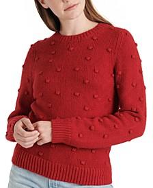 Bobble Crewneck Sweater