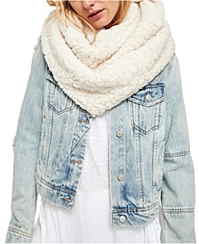 Cloud Nine Fuzzy Circle Scarf