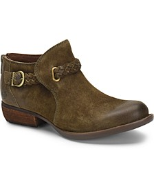 Sylvia Leather Booties