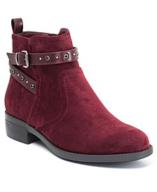 Cassidy Buckle Strap Ankle Boot