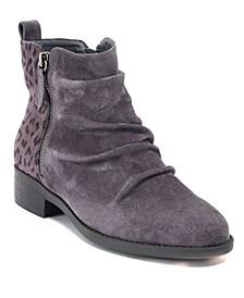 Nori Zipper Detail Ankle Boot