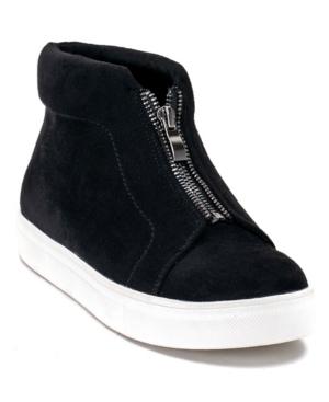 Coby Front Zipper Hightop Sneaker Women's Shoes