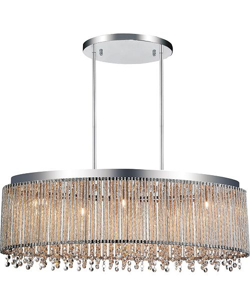 CWI Lighting Claire 5 Light Chandelier