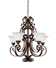 CLOSEOUT! Victorian 5 Light Chandelier