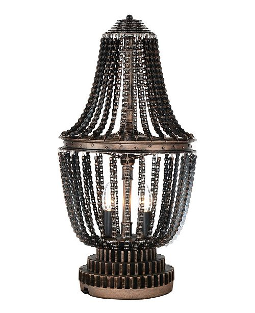 CWI Lighting CLOSEOUT! Kala 2 Light Table Lamp