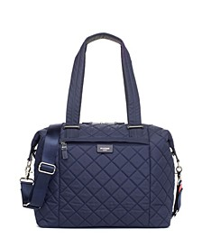 Stevie Quilted Diaper Bag Tote