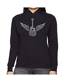 Women's Word Art Hooded Sweatshirt - Amazing Grace