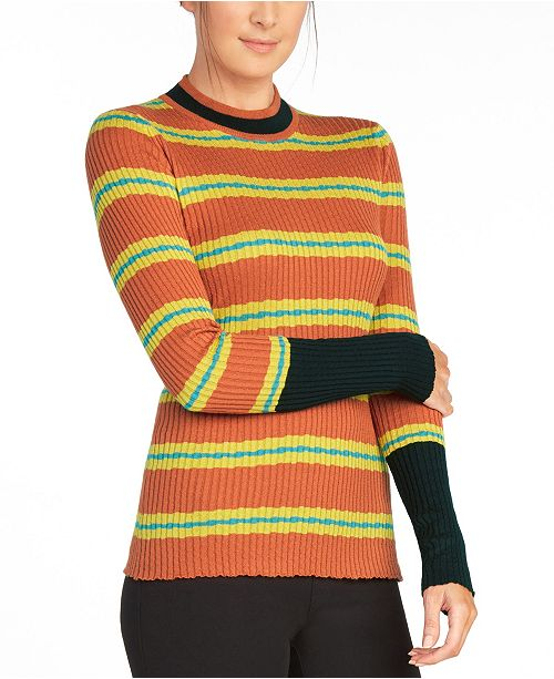 The Cause Collection Hyde Rib Knit Sweater