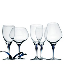 Intermezzo Blue Bar and Stemware Collection