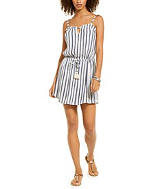 Striped Dress Cover-Up
