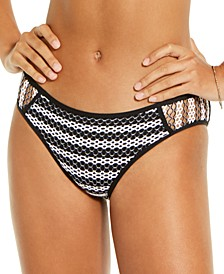 Reveal Crochet Hipster Bikini Bottoms