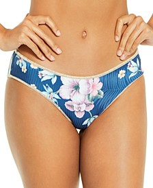 Costa Rica Printed Reversible Hipster Bottoms