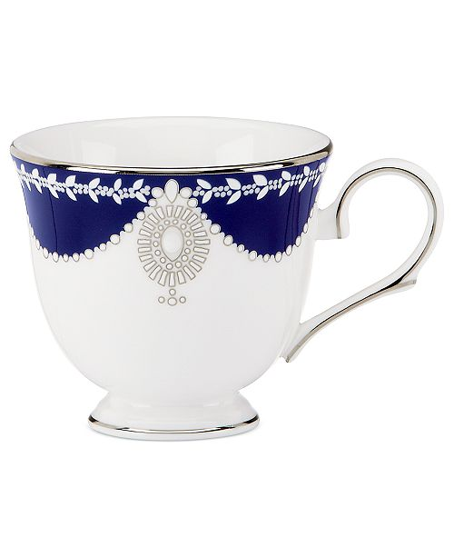 Marchesa by Lenox Dinnerware, Empire Indigo Cup