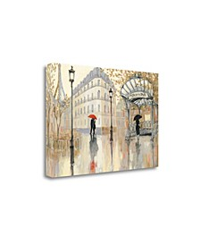 """To The Metro I by Julia Purinton Giclee Print on Gallery Wrap Canvas, 24"""" x 16"""""""
