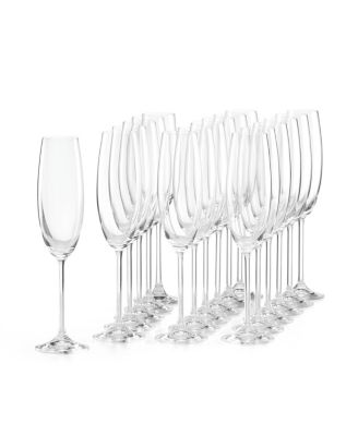 Tuscany Classics Party Flutes, Set of 18