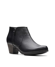 Collection Women's Valarie2Sofia Leather Booties