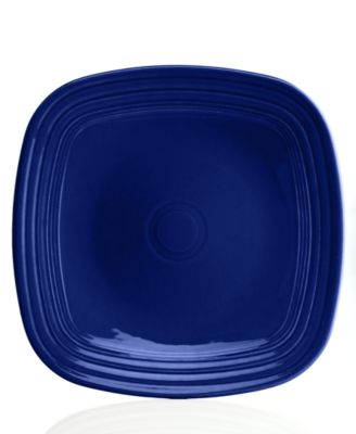 Cobalt Square Dinner Plate