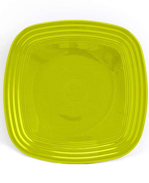 Fiesta Lemongrass Square Luncheon Plate
