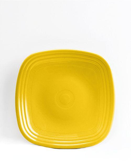 Fiesta Sunflower Square Salad Plate
