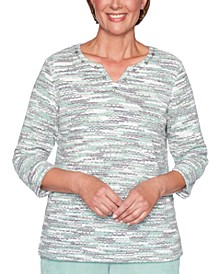 Lake Geneva Space Dyed Top