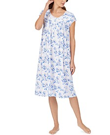 Lace-Trim Waltz Nightgown
