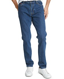 Tommy Hilfiger Men's Slim-Tapered Fit Stretch Jeans, Created For Macy's