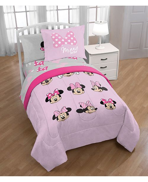 Jay Franco Minnie Mouse Twin 6-Pc. Comforter Set