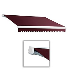 """8' Key West Full Cassette Right Motor, Remote Retractable Awning, 78"""" Projection"""