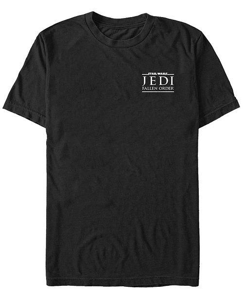 Star Wars Men's Jedi Fallen Order Left Chest Logo T-shirt