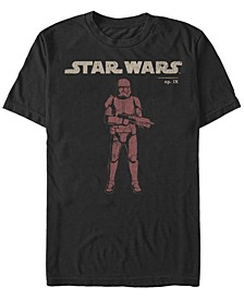 Men's Episode IX Distressed Red Trooper T-shirt