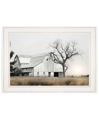 "Ohio Fields I by Lori Deiter, Ready to hang Framed Print, White Frame, 21"" x 15"""