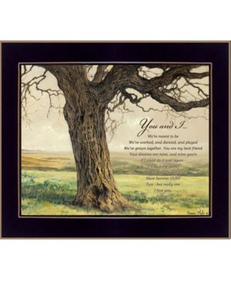 """Forever By Bonnie Mohr, Printed Wall Art, Ready to hang, Black Frame, 22"""" x 18"""""""